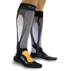 X-Socks Ski Carving Ultralight Sokken grijs/zwart